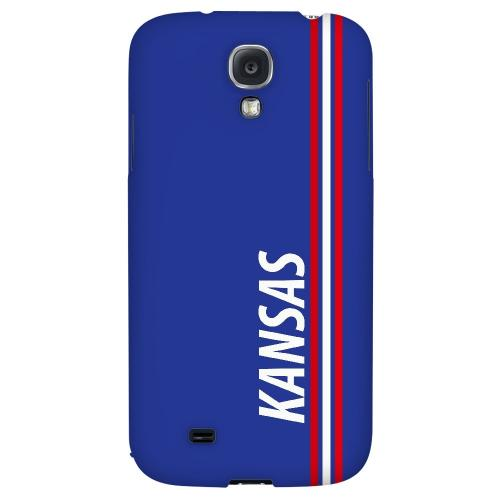 Kansas - Geeks Designer Line March Madness 2012 Series Hard Back Case for Samsung Galaxy S4