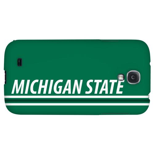 Michigan State - Geeks Designer Line March Madness 2012 Series Hard Back Case for Samsung Galaxy S4