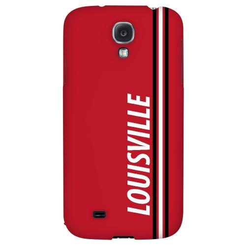 Louisville - Geeks Designer Line March Madness 2012 Series Hard Back Case for Samsung Galaxy S4