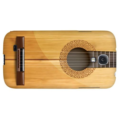 Acoustic Guitar - Geeks Designer Line Music Series Hard Back Case for Samsung Galaxy S4