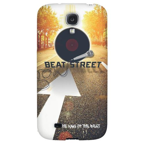 Beatstreet - Geeks Designer Line Music Series Hard Back Case for Samsung Galaxy S4