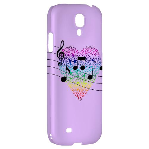 Earful of Color - Geeks Designer Line Music Series Hard Back Case for Samsung Galaxy S4
