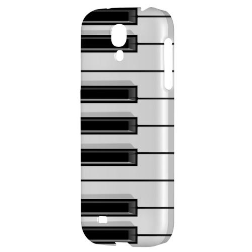 Piano Keys - Geeks Designer Line Music Series Hard Back Case for Samsung Galaxy S4