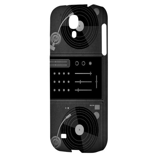 Turntabliss - Geeks Designer Line Music Series Hard Back Case for Samsung Galaxy S4