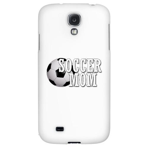 Soccer Mom - Geeks Designer Line Mom Series Hard Back Case for Samsung Galaxy S4
