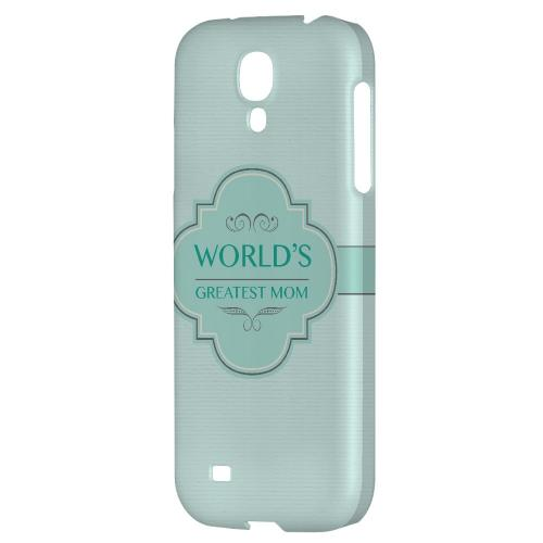 Vintage World's Greatest Mom - Geeks Designer Line Mom Series Hard Back Case for Samsung Galaxy S4