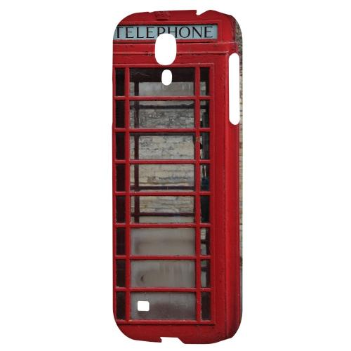 English Telephone Booth - Geeks Designer Line Humor Series Hard Back Case for Samsung Galaxy S4