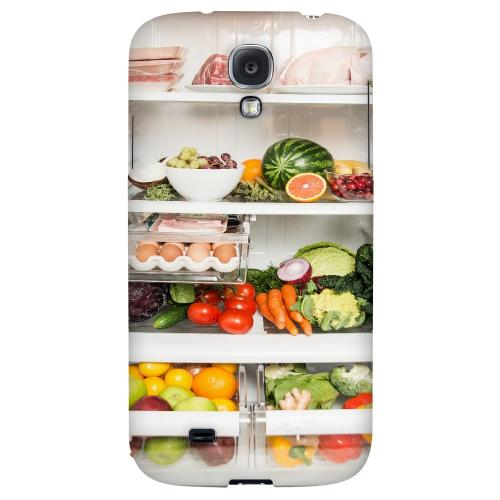 Refrigerator - Geeks Designer Line Humor Series Hard Back Case for Samsung Galaxy S4