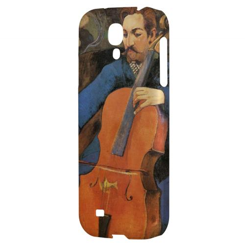 The Cellist by Paul Gauguin - Geeks Designer Line Artist Series Hard Back Case for Samsung Galaxy S4