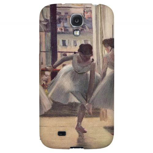 Three Dancers in an Exercise Hall by Edgar Degas - Geeks Designer Line Artist Series Hard Back Case for Samsung Galaxy S4
