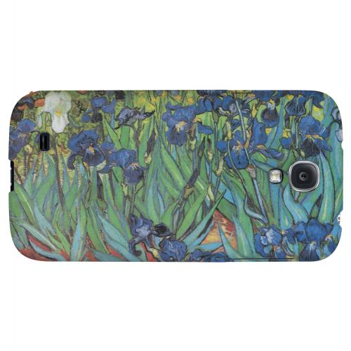 Irises by Vincent van Gogh - Geeks Designer Line Artist Series Hard Back Case for Samsung Galaxy S4