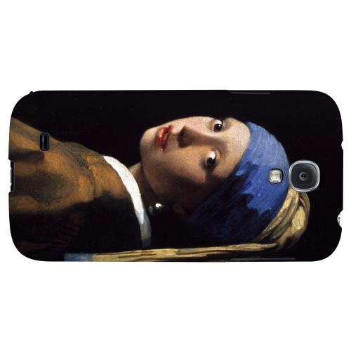 Girl with a Pearl Earring by Jan Vermeer - Geeks Designer Line Artist Series Hard Back Case for Samsung Galaxy S4