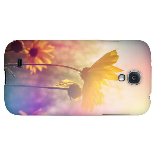 Colorful Daisy Bloom - Geeks Designer Line Spring Series Hard Back Case for Samsung Galaxy S4