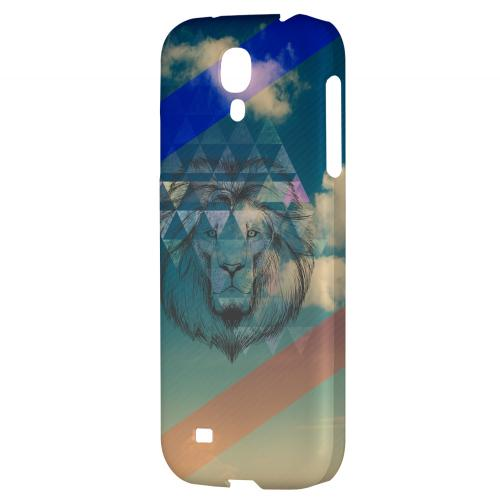 Majestic Lion in the Sky - Geeks Designer Line Spring Series Hard Back Case for Samsung Galaxy S4