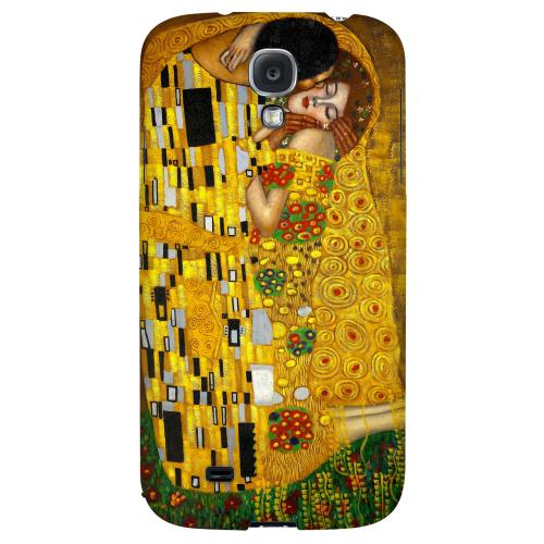 Gustav Klimt The Kiss - Geeks Designer Line Artist Series Hard Back Case for Samsung Galaxy S4