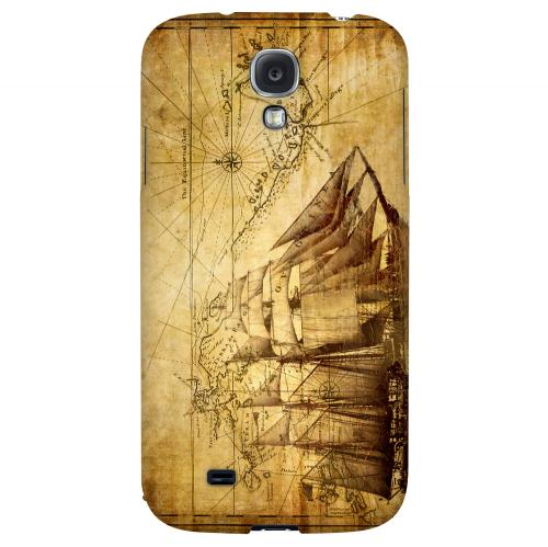 British Sea Power - Geeks Designer Line Map Series Hard Back Case for Samsung Galaxy S4