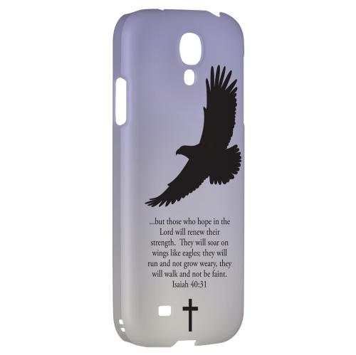 Isaiah 40:31 - Sleepy Grape - Geeks Designer Line Bible Series Hard Back Case for Samsung Galaxy S4