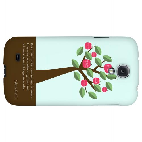 Galatians 5:22-23 - Geeks Designer Line Bible Series Hard Back Case for Samsung Galaxy S4