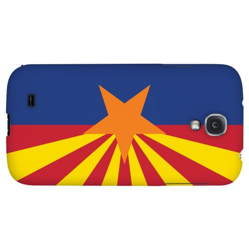 Arizona - Geeks Designer Line Flag Series Hard Back Case for Samsung Galaxy S4