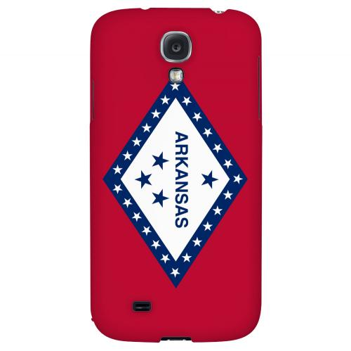 Arkansas - Geeks Designer Line Flag Series Hard Back Case for Samsung Galaxy S4