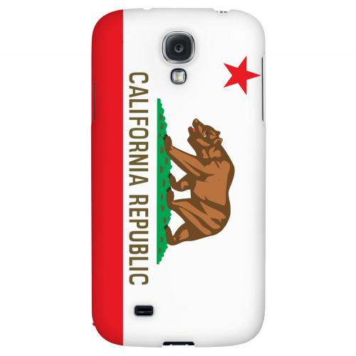 California - Geeks Designer Line Flag Series Hard Back Case for Samsung Galaxy S4