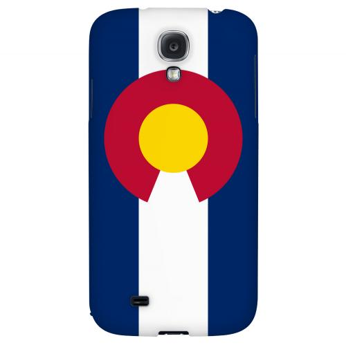 Colorado - Geeks Designer Line Flag Series Hard Back Case for Samsung Galaxy S4