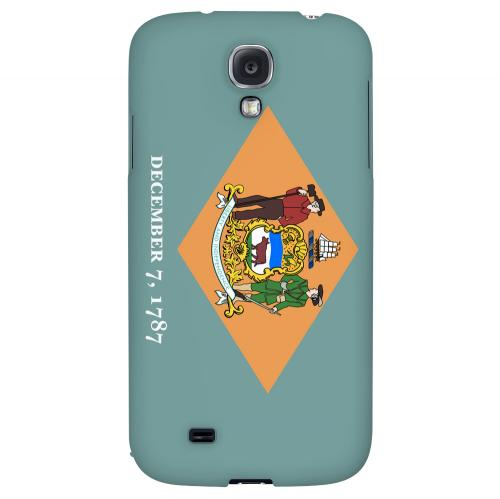 Delaware - Geeks Designer Line Flag Series Hard Back Case for Samsung Galaxy S4