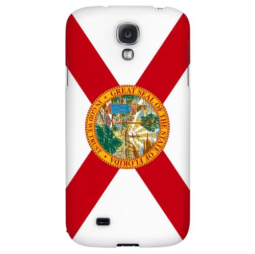 Florida - Geeks Designer Line Flag Series Hard Back Case for Samsung Galaxy S4