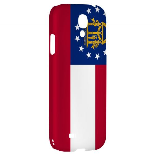 Georgia - Geeks Designer Line Flag Series Hard Back Case for Samsung Galaxy S4