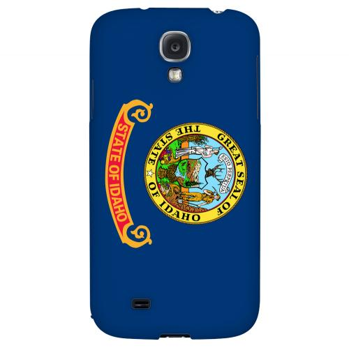 Idaho - Geeks Designer Line Flag Series Hard Back Case for Samsung Galaxy S4