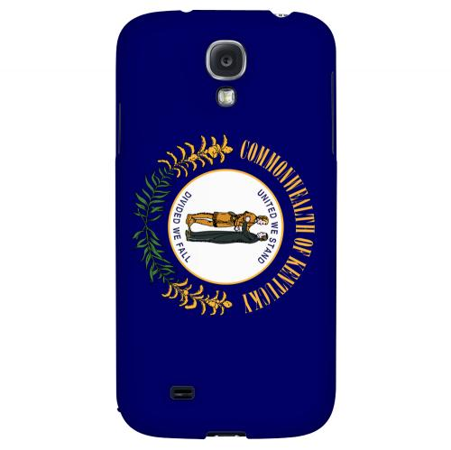 Kentucky - Geeks Designer Line Flag Series Hard Back Case for Samsung Galaxy S4