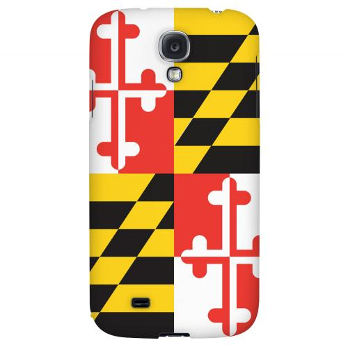 Maryland - Geeks Designer Line Flag Series Hard Back Case for Samsung Galaxy S4