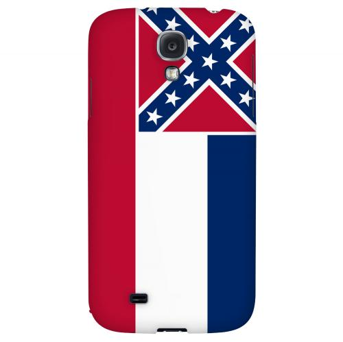 Mississippi - Geeks Designer Line Flag Series Hard Back Case for Samsung Galaxy S4