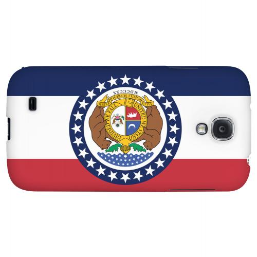 Missouri - Geeks Designer Line Flag Series Hard Back Case for Samsung Galaxy S4