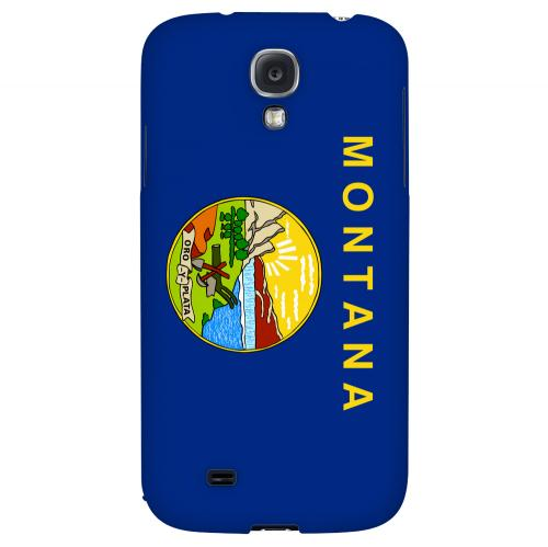 Montana - Geeks Designer Line Flag Series Hard Back Case for Samsung Galaxy S4