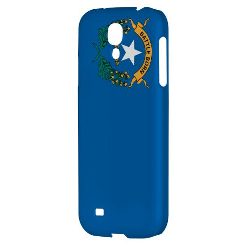 Nevada - Geeks Designer Line Flag Series Hard Back Case for Samsung Galaxy S4