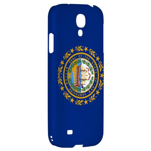 New Hampshire - Geeks Designer Line Flag Series Hard Back Case for Samsung Galaxy S4