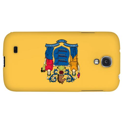 New Jersey - Geeks Designer Line Flag Series Hard Back Case for Samsung Galaxy S4