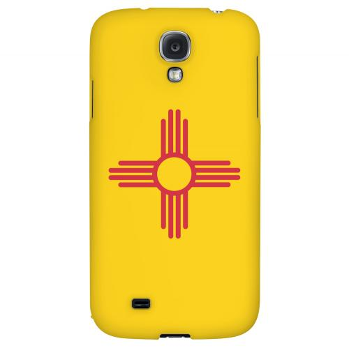 New Mexico - Geeks Designer Line Flag Series Hard Back Case for Samsung Galaxy S4