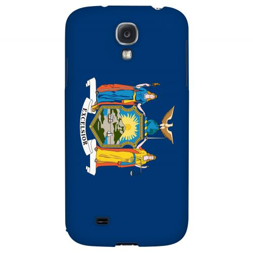 New York - Geeks Designer Line Flag Series Hard Back Case for Samsung Galaxy S4
