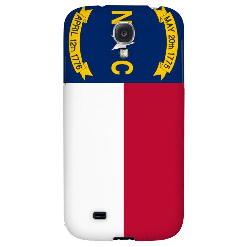 North Carolina - Geeks Designer Line Flag Series Hard Back Case for Samsung Galaxy S4