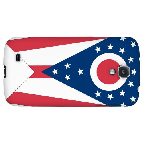 Ohio - Geeks Designer Line Flag Series Hard Back Case for Samsung Galaxy S4