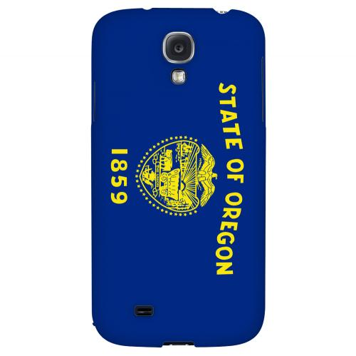 Oregon - Geeks Designer Line Flag Series Hard Back Case for Samsung Galaxy S4