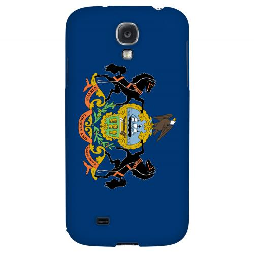 Pennsylvania - Geeks Designer Line Flag Series Hard Back Case for Samsung Galaxy S4