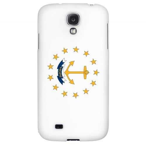 Rhode Island - Geeks Designer Line Flag Series Hard Back Case for Samsung Galaxy S4