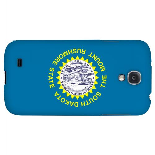South Dakota - Geeks Designer Line Flag Series Hard Back Case for Samsung Galaxy S4
