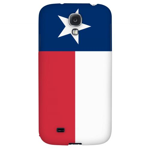 Texas - Geeks Designer Line Flag Series Hard Back Case for Samsung Galaxy S4