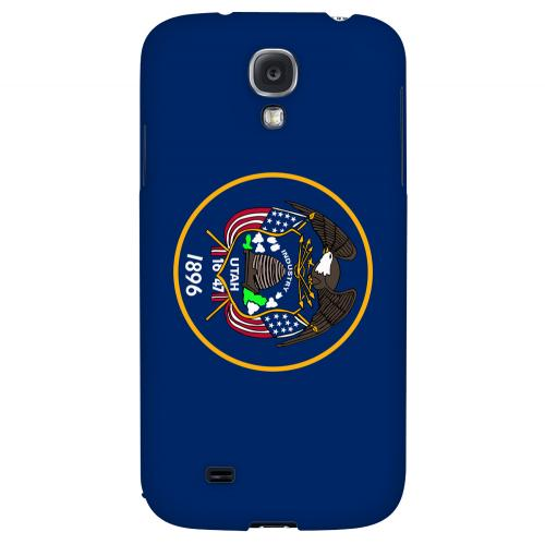Utah - Geeks Designer Line Flag Series Hard Back Case for Samsung Galaxy S4