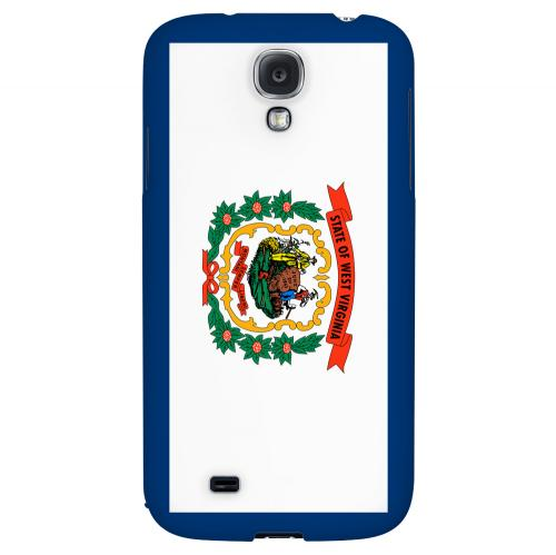 West Virginia - Geeks Designer Line Flag Series Hard Back Case for Samsung Galaxy S4