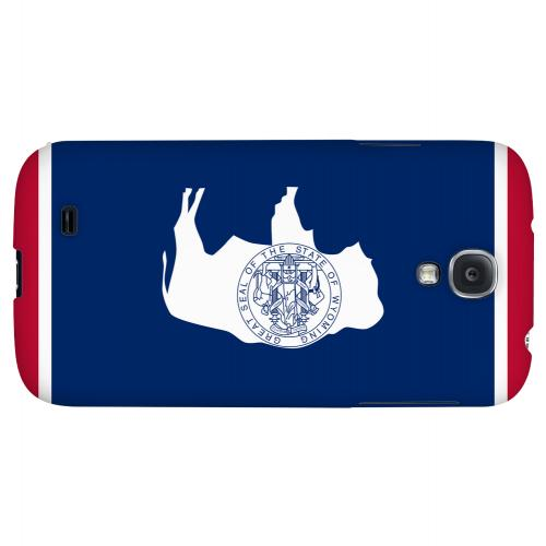 Wyoming - Geeks Designer Line Flag Series Hard Back Case for Samsung Galaxy S4